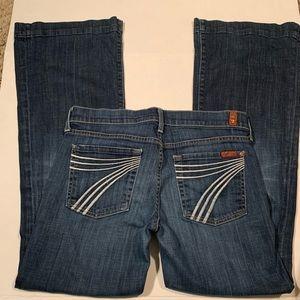 7 for all Mankind Dojo Jean size 28